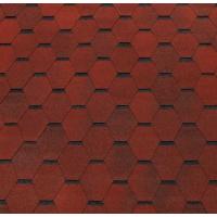 Битумная черепица ECOROOF Hexagonal Red